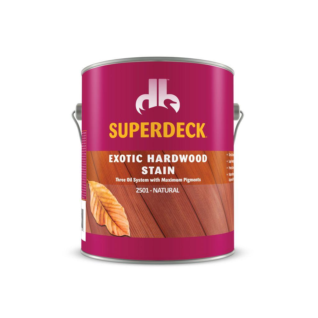 Exotic Hardwood Stain 2500 Duckback