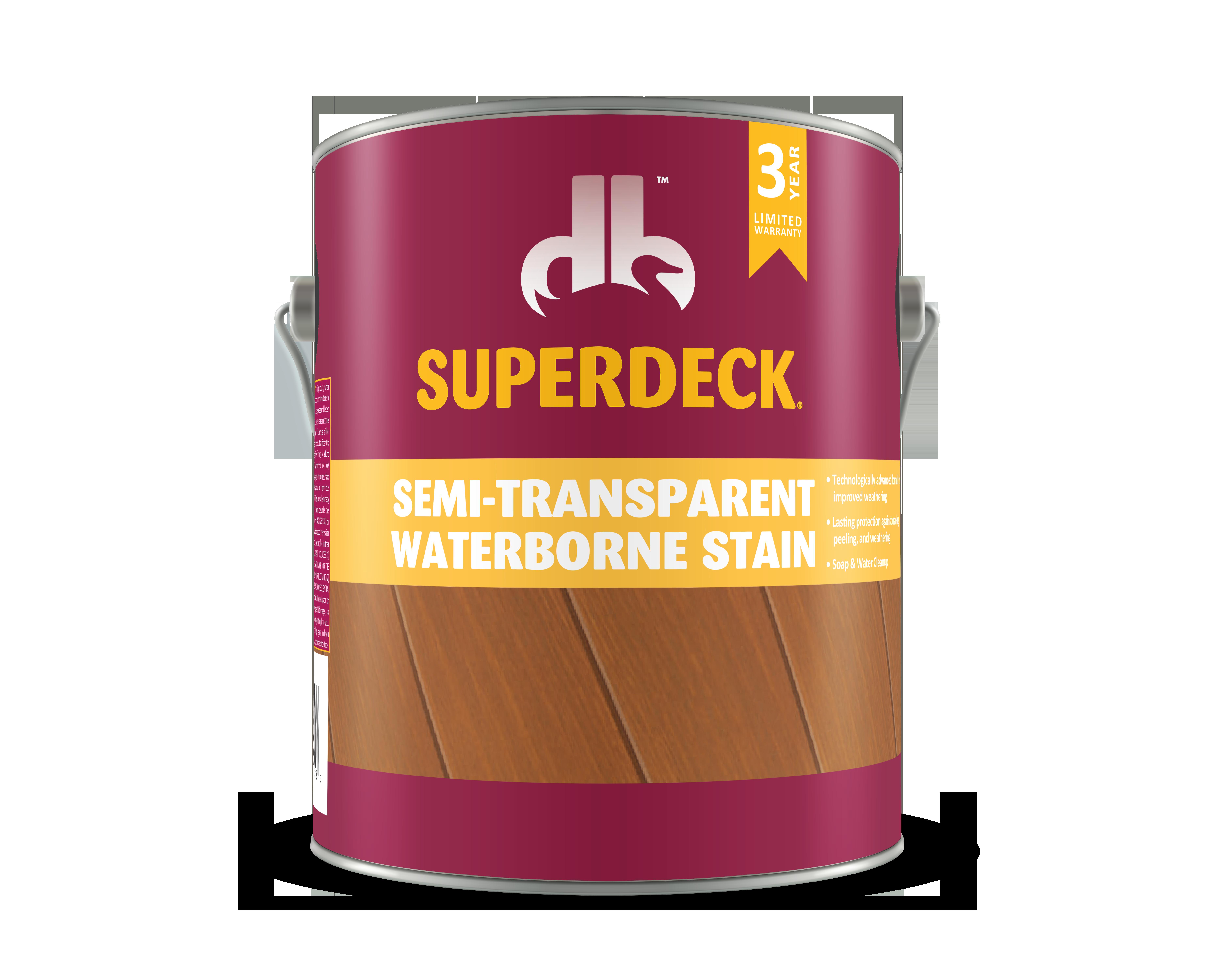 Semi transparent waterborne stain 2400 duckback - Best exterior semi transparent stain ...