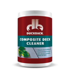 Products duckback for Deck and concrete cleaner