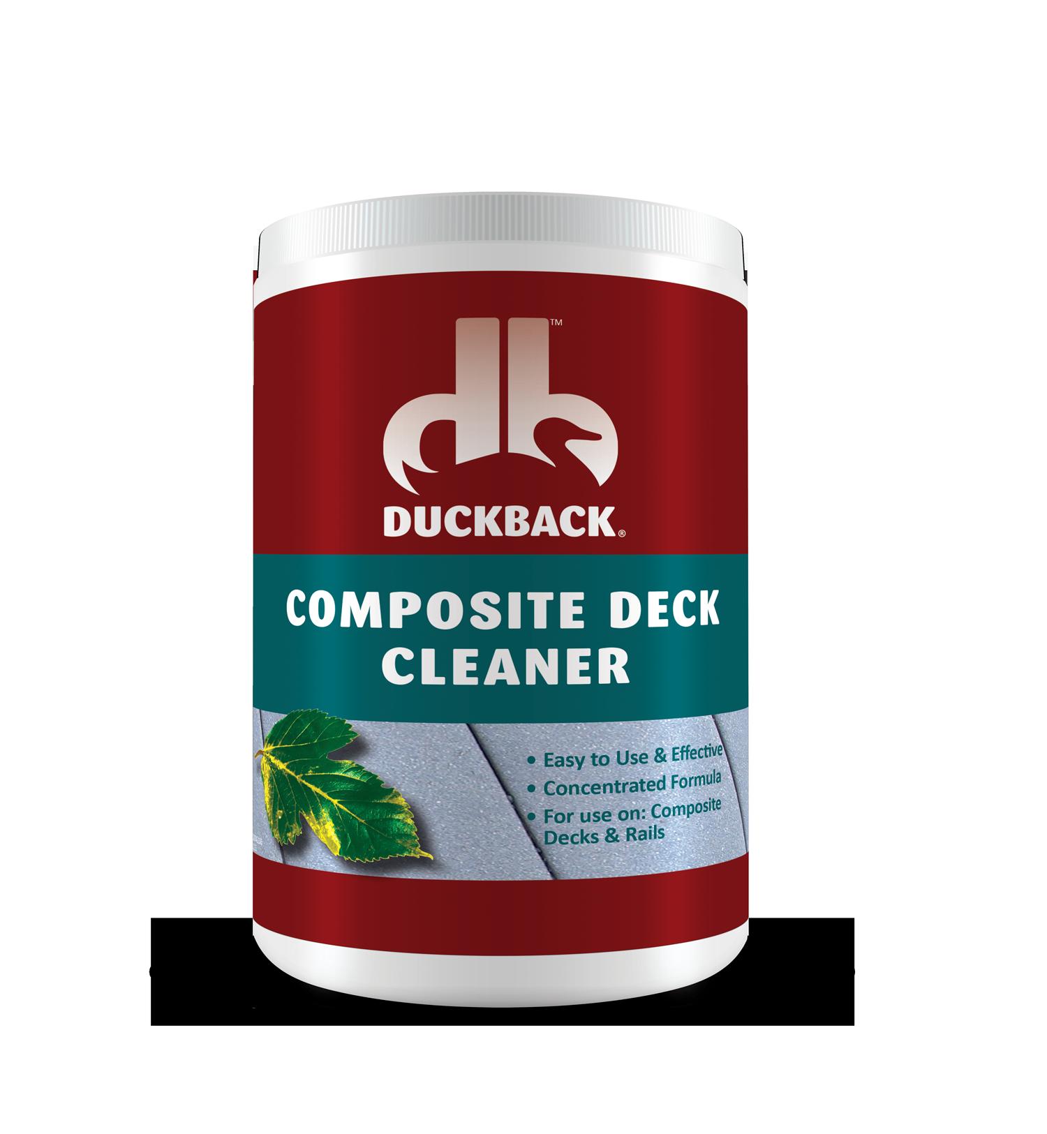 Composite Deck Cleaner 4210 Duckback